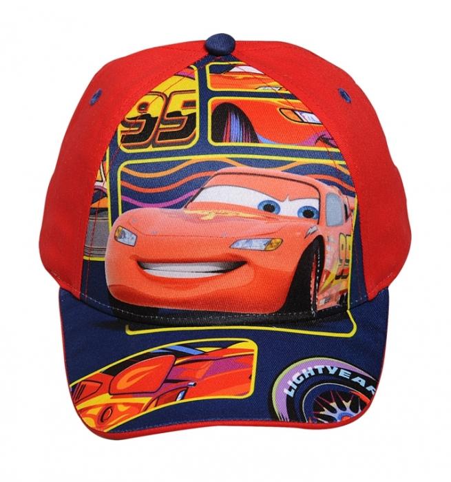 CHLAPECKÁ KŠILTOVKA DISNEY CARS. Kvalitní chlapecká kšiltovka s motivem  auta Cars s nastavitelným zadním popruhem. 64e1af2041