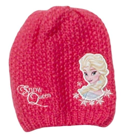 b50cf6e909d Dívčí jarní podzimní čepice s motivem princezny Elsy z pohádky Ledové  království.