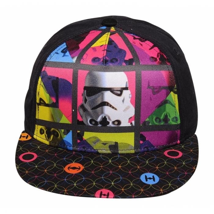 Kvalitní chlapecká kšiltovka s motivem Star Wars s nastavitelným zadním  popruhem. ed6bbd2f7f