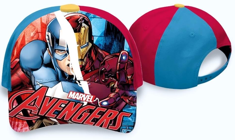 Kvalitní chlapecká kšiltovka s motivem Avengers s nastavitelným zadním  popruhem. 0c03e9c8d6