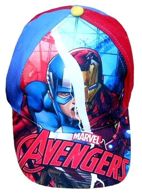 CHLAPECKÁ KŠILTOVKA AVENGERS KAPITÁN AMERIKA. Kvalitní chlapecká kšiltovka  s motivem Avengers s nastavitelným zadním popruhem. ed58ec7bed