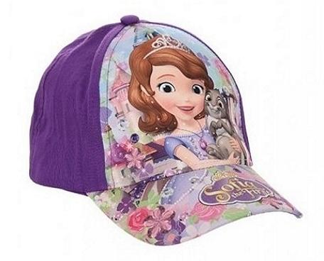 Kvalitní kšiltovka s motivem Disney princezny Sofie I. s nastavitelným  zadním popruhem. df500ed7e5