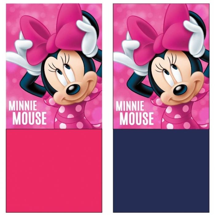 Dívčí fleecový nákrčník - univerzální šátek v designu Disney Minnie Mouse. a8725b8935