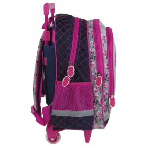 Velký školní batoh na kolečkách Horse koně s jednou hlavní a jednou přední  kapsou. f2737e32e0