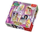 PUZZLE DISNEY FAIRIES 4 V 1 MIX 35,48,54,70 DÍLKŮ