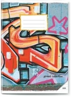 SEŠIT A4 444 GRAFFITI