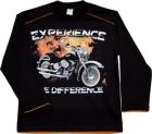 CHLAPECKÉ TRIČKO EXPERIENCE /MOTORKA/
