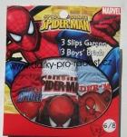 CHLAPECKÉ SLIPY SPIDERMAN - SADA 3KS