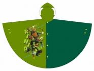 CHLAPECKÁ PLÁŠTĚNKA - PONČO ŽELVY NINJA světle zelená