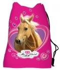 SÁČEK NA PŘEZŮVKY, CVIČKY KONĚ LOVE HORSE