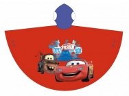 CHLAPECKÁ PLÁŠTĚNKA - PONČO DISNEY CARS červená
