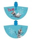DĚTSKÁ PLÁŠTĚNKA - PONČO DISNEY FROZEN OLAF světle modrá