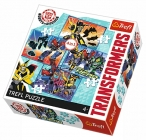 PUZZLE TRANSFORMERS 4 V 1 MIX 35,48,54,70 DÍLKŮ