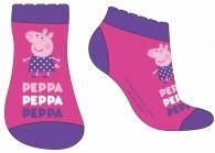 DÍVČÍ KOTNÍČKOVÉ PONOŽKY PRASÁTKO PEPPA PIG  růžové