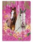 SPISOVÁ SLOŽKA - DESKY NA SEŠITY A4 KONĚ I LOVE HORSE
