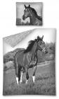 POVLEČENÍ HORSE KŮŇ ČERNOBÍLÝ