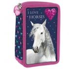 ŠKOLNÍ TŘÍPATROVÝ PLNĚ VYBAVENÝ PENÁL HORSE KONĚ