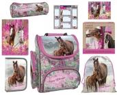 ZVÝHODNĚNÁ ŠKOLNÍ SADA KONĚ I LOVE HORSES 8 KS