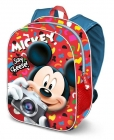 DĚTSKÝ BATOH 3D MICKEY MOUSE SAY CHEESE!