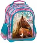 ŠKOLNÍ ERGONOMICKÝ BATOH KONĚ I LOVE HORSES