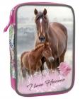 JEDNOKOMOROVÝ MULTIFUNKČNÍ PENÁL KONĚ I LOVE HORSES