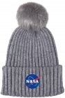DÍVČÍ ZIMNÍ ČEPICE NASA