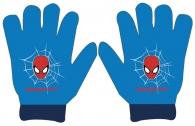 CHLAPECKÉ ZIMNÍ RUKAVICE SPIDERMAN modré