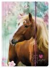 SPISOVÁ SLOŽKA - DESKY NA SEŠITY A4 KONĚ I LOVE HORSES