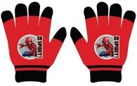 CHLAPECKÉ RUKAVICE SPIDERMAN červené