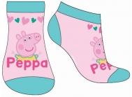 DÍVČÍ KOTNÍČKOVÉ PONOŽKY PEPPA PIG růžové