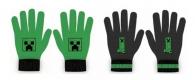 CHLAPECKÉ ZIMNÍ RUKAVICE MINECRAFT zelené