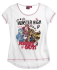 DÍVČÍ TRIČKO MONSTER HIGH BÍLÉ NIGHT OUT