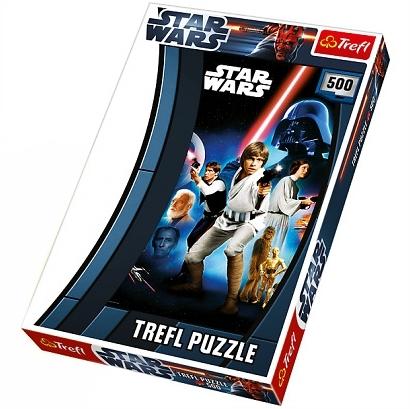PUZZLE STAR WARS 500 DÍLKŮ