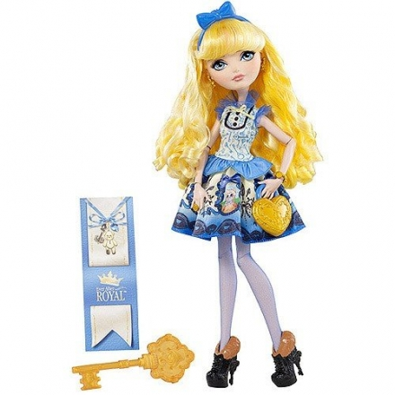 MATTEL EVER AFTER HIGH ŠLECHTICI PANENKA BLONDIE…