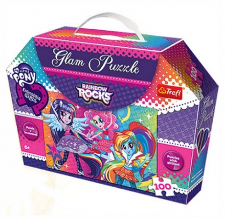 PUZZLE GLAM MY LITTLE PONY EQUESTRIA GIRLS 100…