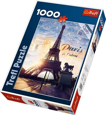 PUZZLE CITY PAŘÍŽ JE T´AIME 1000 dílků