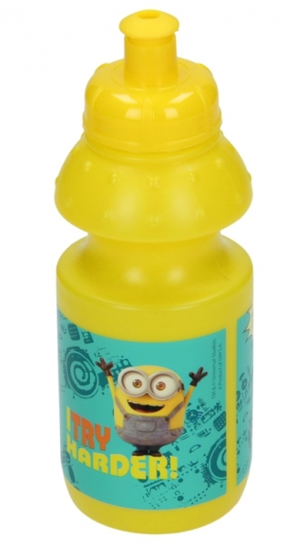 SPORTOVNÍ LÁHEV NA PITÍ MIMONI 350 ml žlutá