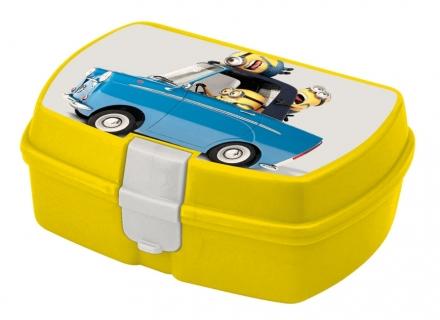 BOX NA SVAČINU MIMONI žlutý
