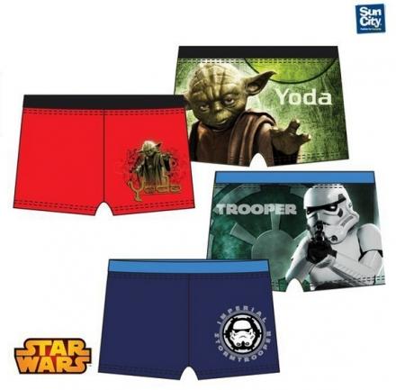 CHLAPECKÉ PLAVKY BOXERKY STAR WARS Yoda