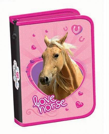ŠKOLNÍ JEDNOPATROVÝ PENÁL S KLOPOU KONĚ LOVE HORSE