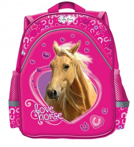 DĚTSKÝ PŘEDŠKOLNÍ BATOH KONĚ LOVE HORSE