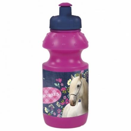 SPORTOVNÍ LÁHEV NA PITÍ HORSE KONĚ 330 ml