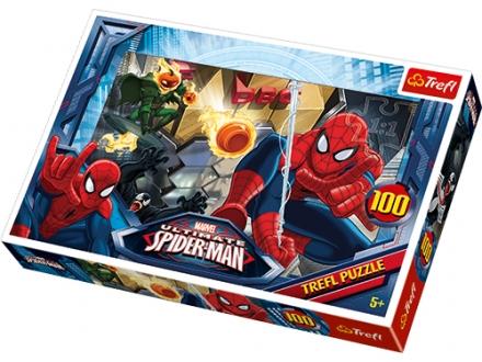 PUZZLE SPIDERMAN ÚNIK 100 DÍLKŮ