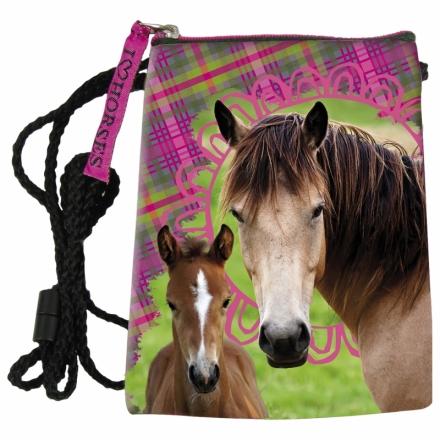 KAPSIČKA - PENĚŽENKA NA KRK KONĚ HORSE