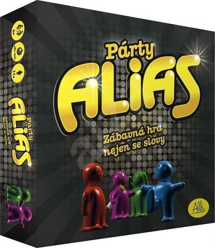 SPOLEČENSKÁ HRA PÁRTY ALIAS
