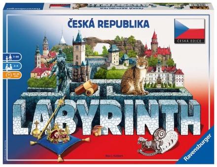 SPOLEČENSKÁ HRA LABYRINTH ČESKÁ REPUBLIKA