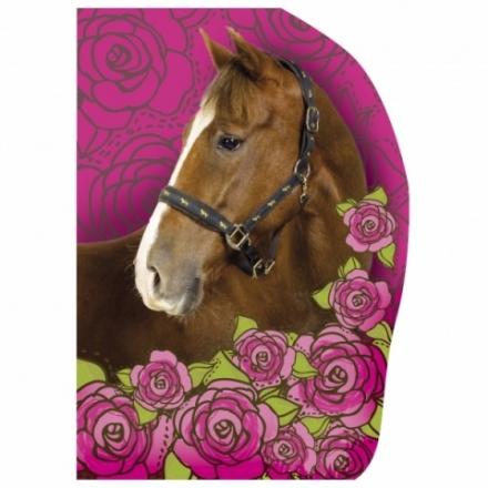 BLOK A6 S VÝSEKEM KONĚ HORSE