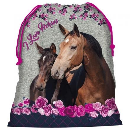 SÁČEK NA PŘEZŮVKY, CVIČKY HORSE KONĚ