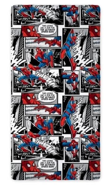 PROSTĚRADLO SPIDERMAN COMICS