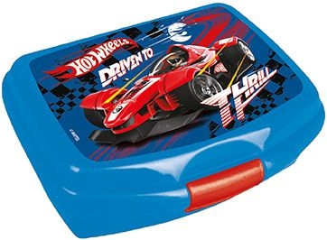 SVAČINOVÝ BOX HOT WHEELS